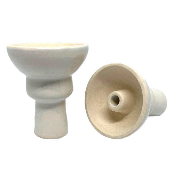 Чаша Глиняная EGO Phunnel Глазурь (Белый)  -  Aladin.kiev.ua купить