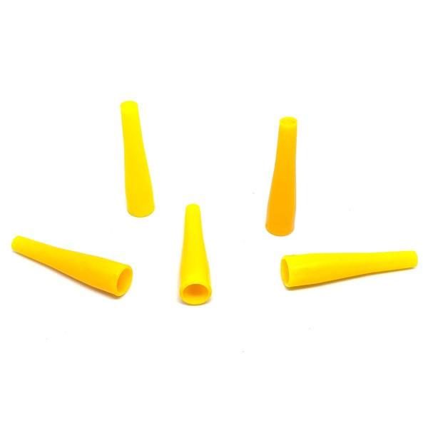 Мундштуки Одноразовые Длинные Желтый (100)