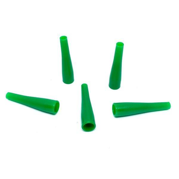 Мундштуки Одноразовые Длинные Зеленый (100)