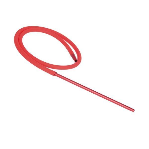 Шланг Силиконовый Candy Long Metallic Soft Touch (Красный)