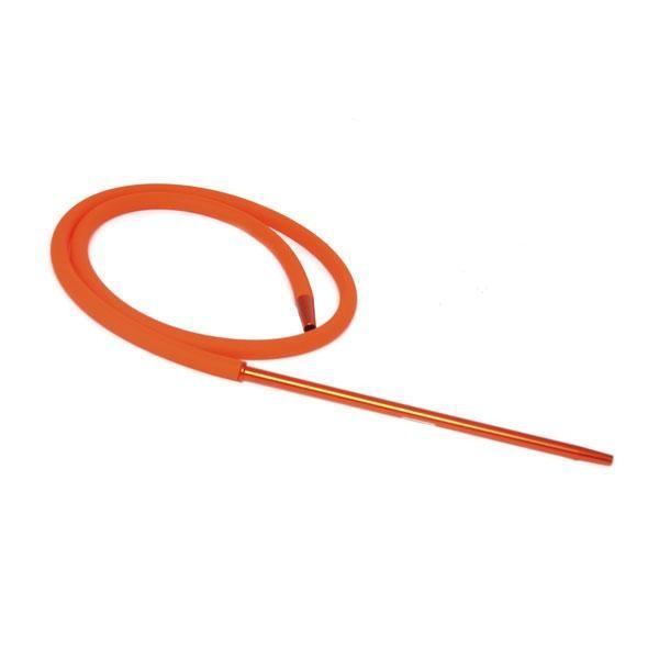 Шланг Силиконовый Candy Long Metallic Soft Touch (Оранжевый)