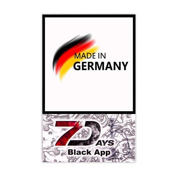 Табак 7 Days Black App (Сладкое яблоко) 50 гр