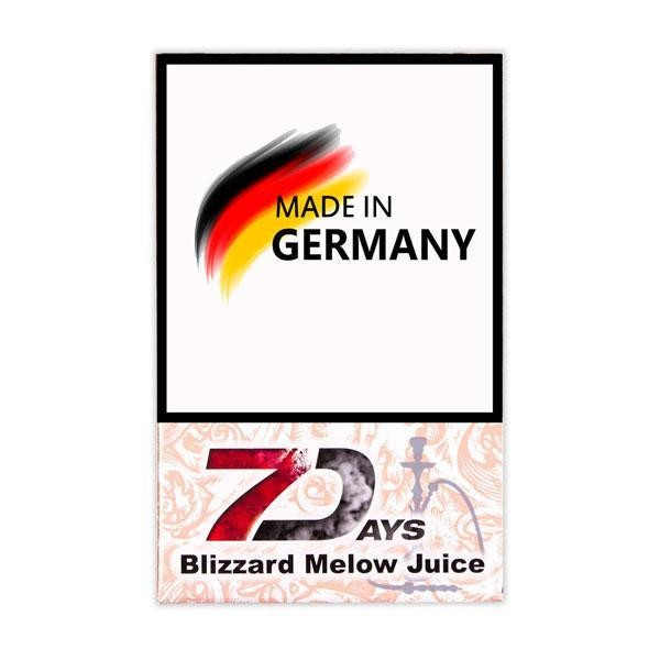 Табак 7 Days Blizzard Melow Juice (Ледяной сок арбуза) 50 гр