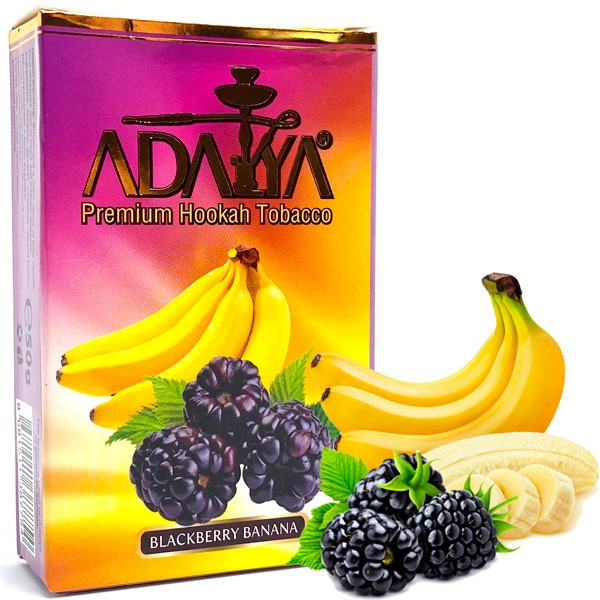 Табак Adalya Blackberry Banana (Ежевика Банан) 50гр