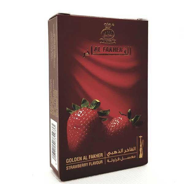 Табак Al Fakher Golden Strawberry (Клубника) 50гр