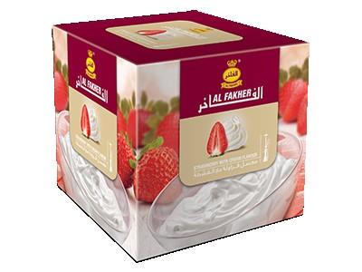 Табак Al Fakher Strawberry with Cream (Клубника сливки) 1кг