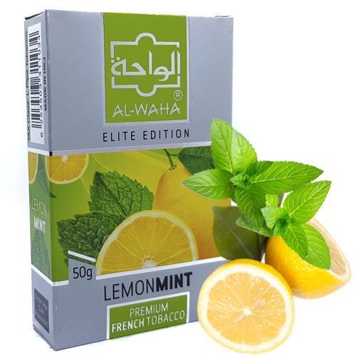 Табак Al-Waha Elite Edition Lemon Mint (Лимон Мята) 50 гр