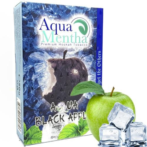 Тютюн Aqua Mentha Aqua Black Apple (Аква Чорне Яблуко) 50 гр