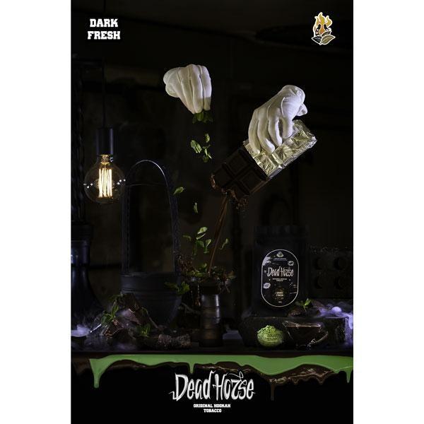 Табак Dead Horse Hell Line Dark Fresh (Дарк Фреш) 100гр