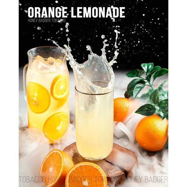 Тютюн Honey Badger Mild Line Orange Lemonade (Апельсин Лимонад) 250гр