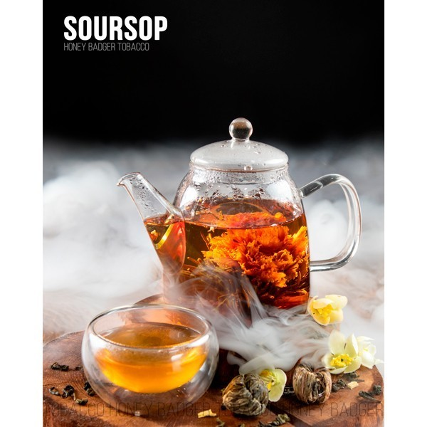 Тютюн Honey Badger Mild Line Soursop (Саусеп) 250гр