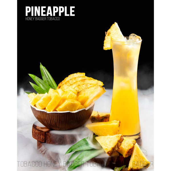 Табак Honey Badger Wild Line Pineapple (Ананас) 100гр