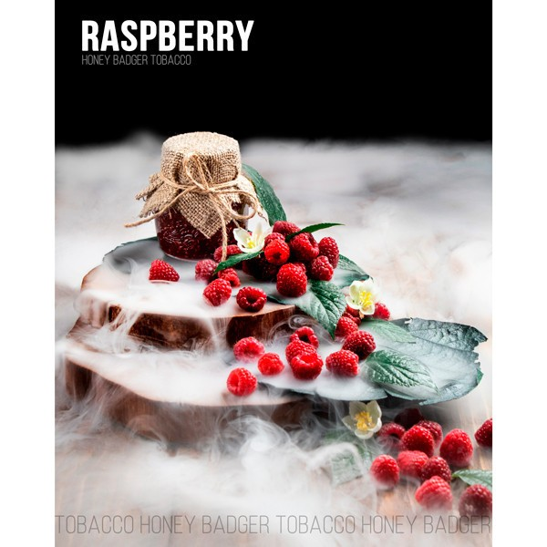 Табак Honey Badger Wild Line Raspberry (Малина) 100гр
