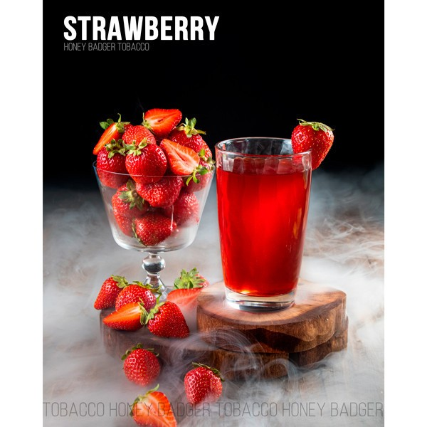Табак Honey Badger Wild Line Strawberry (Клубника) 100гр