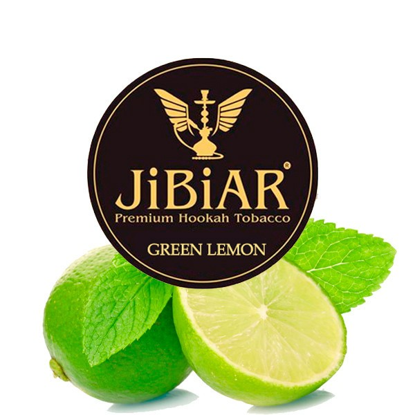 Табак JIBIAR Green Lemon (Грин Лимон) 250 гр