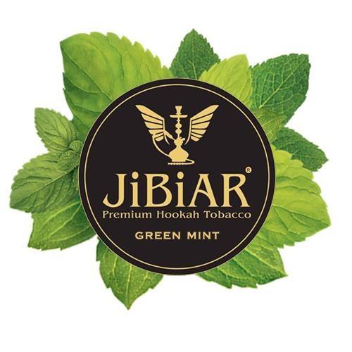 Табак JIBIAR Green Mint (Зеленая Мята) 1 кг