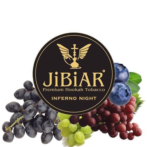 Табак JIBIAR Inferno Night (Адская Ночь) 500 гр