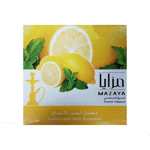 Табак Mazaya Lemon with Mint (Лимон с Мятой) 250гр  -  Aladin.kiev.ua купить
