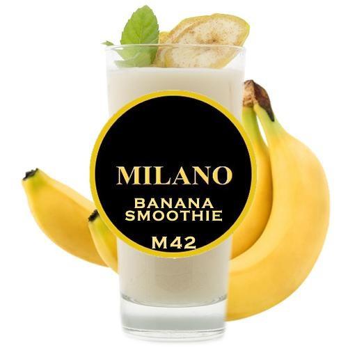 Табак Milano Banana Smoothie M42 (Банановое Смузи) 500 гр