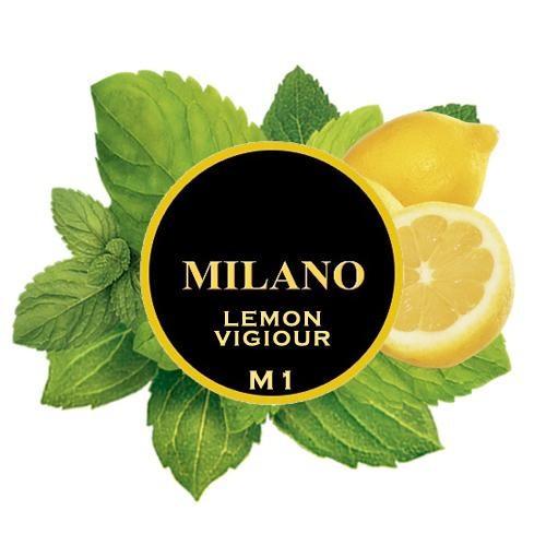 Табак Milano Lemon Vigiour M1 (Лимон Мята) 100 гр