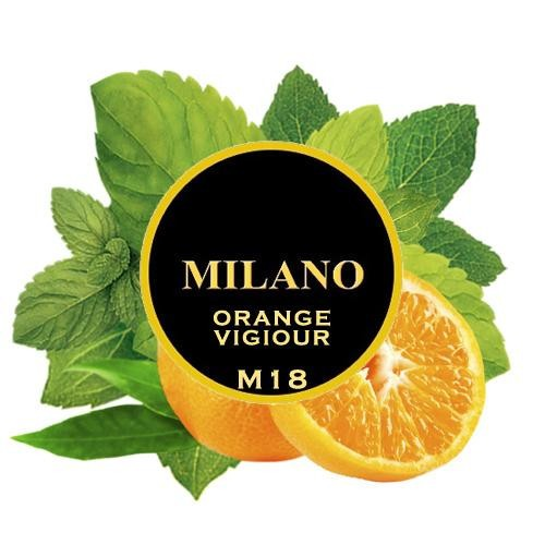 Табак Milano Orange Vigiour M18 (Апельсин Мята) 100 гр