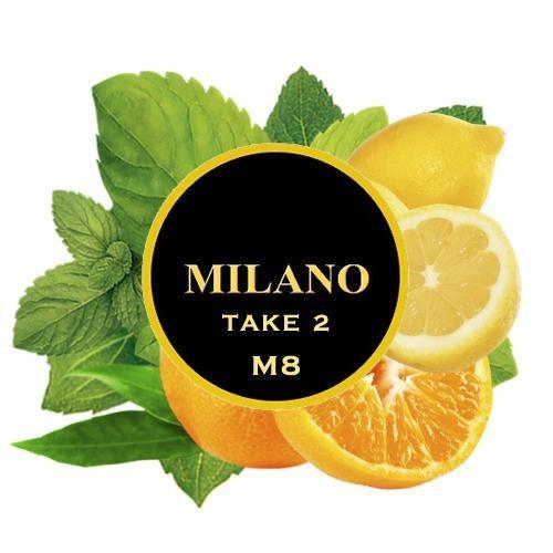 Табак Milano Take 2 M8 (Апельсин Лимон Мята) 500 гр