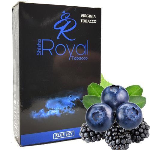 Табак Royal Blue Sky (Черника Ежевика) 50 гр