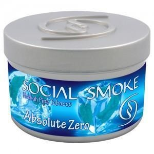 Табак Social Smoke Absolute Zero (Мятный Микс) 100гр