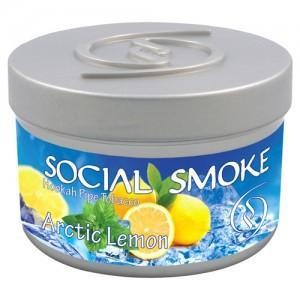 Табак Social Smoke Artic Lemon (Лимонная Цедра Мята) 100гр