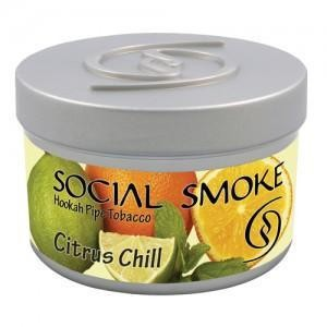 Табак Social Smoke Citrus Chill (Ледяной Цитрус) 100гр