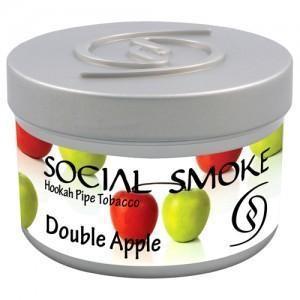 Табак Social Smoke Double Apple (2 Яблока) 250гр