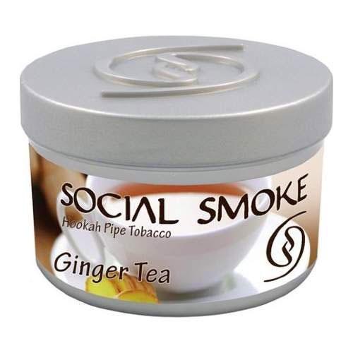 Табак Social Smoke Ginger Tea (Имбирный Чай) 250гр