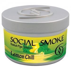 Табак Social Smoke Lemon Chill (Свежий Лимон) 250гр