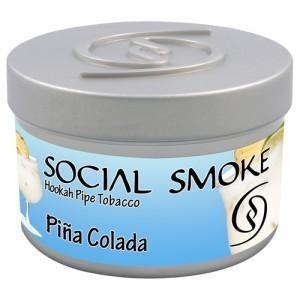Табак Social Smoke Pina Colada (Пина Колада) 250гр