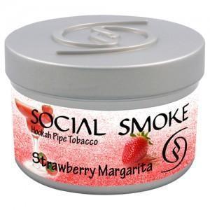 Табак Social Smoke Strawberry Margarita (Клубничная Маргарита) 250гр