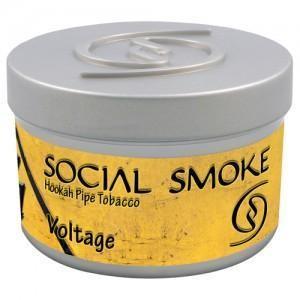 Табак Social Smoke Voltage (Арбуз, Лимон и Амарето) 100гр