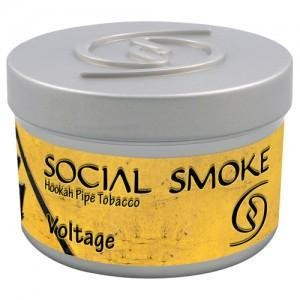 Табак Social Smoke Voltage (Арбуз, Лимон и Амаретто) 250гр  -  Aladin.kiev.ua купить