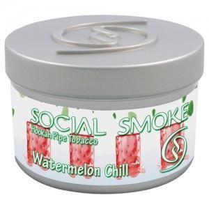 Табак Social Smoke Watermelon Chill (Свежий Арбуз) 100гр  -  Aladin.kiev.ua купить