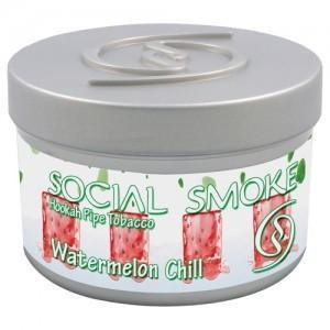 Табак Social Smoke Watermelon Chill (Свежий Арбуз) 100гр