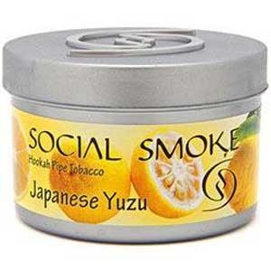 Табак Social Smoke japanese Yuzu (Японский Лимон) 100гр  -  Aladin.kiev.ua купить