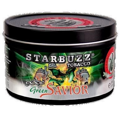 Табак Starbuzz Green Savior (Зелёный Дракон) 100гр