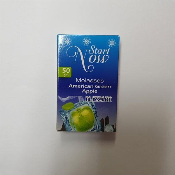 Табак Start Now American Green Apple (Американ Грин Эпл) 50гр