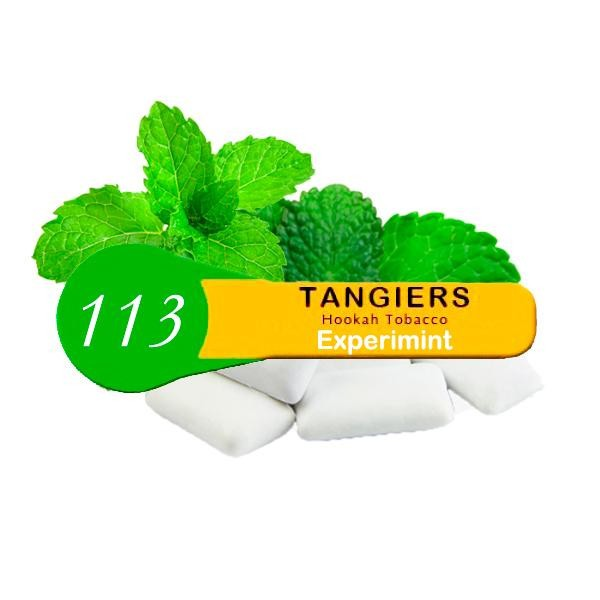 Табак Tangiers Noir Experimint 113 (Мятная Жвачка) 100гр