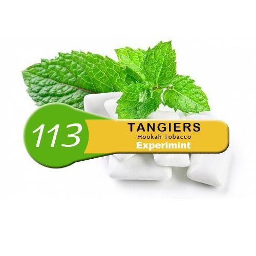 Табак Tangiers Noir Experimint 113 (Мятная Жвачка) 250гр