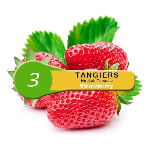 Табак Tangiers Noir Strawberry 3 (Клубника) 100гр