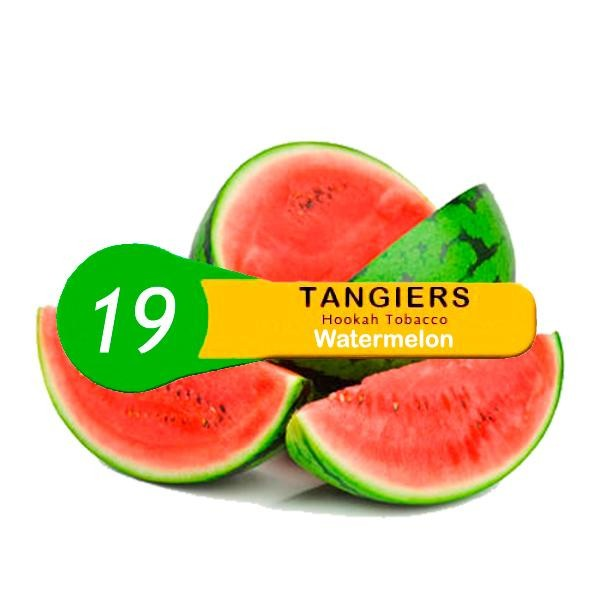 Табак Tangiers Noir Watermelon 19 (Арбуз) 100гр